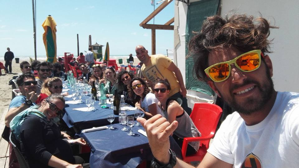 corsi scuola kitesurf roma